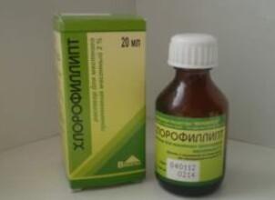 Хлорофиллипт – враг стафилококка при беременности