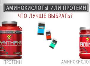 Вред и польза аминокислот для спортсменов