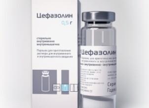 Цефазолин при беременности – самый безопасный антибиотик