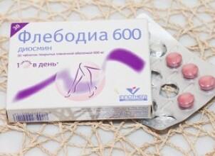 Флебодиа: помощь сосудам при беременности