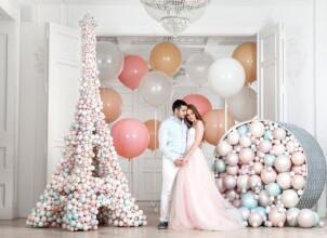 Идеи для декора воздушными шарами