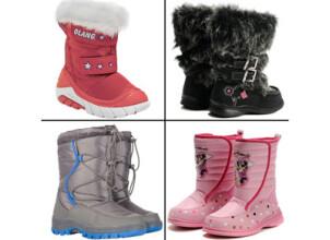 Выбираем качественную и теплую зимнюю обувь для детей