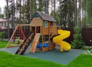Дачные игровые комплексы для детей
