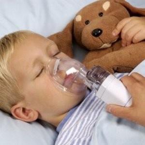 Процедура ингаляции для своего ребенка