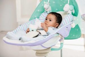 Детские качели для новорожденных