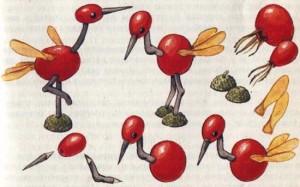 поделки из ягод