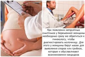Медикаментозное лечение кандидоза во время беременности