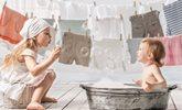 чем стирать вещи малыша