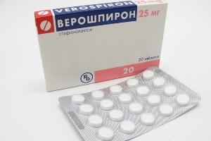 Верошпирон от тестостерона сколько пить