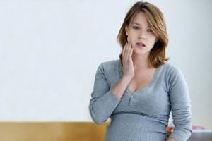 Флюс при беременности что делать