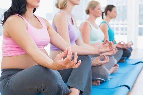 беременность и йога